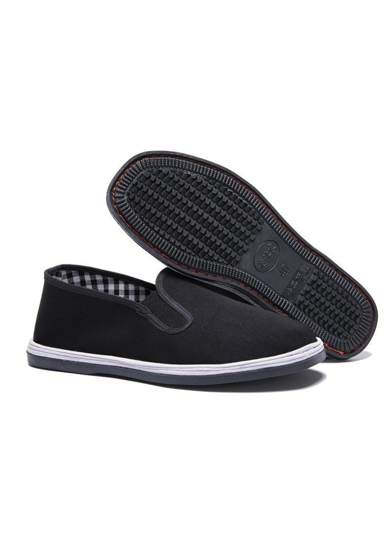 Giày lười vải đế cao su dành cho cả nam và nữ (size từ 35-45)