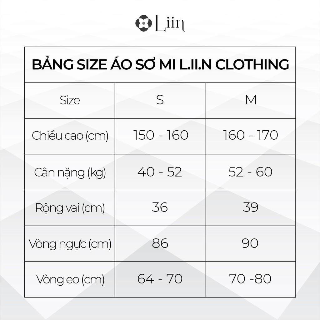 Áo sơ mi Trắng Cộc Tay Bồng form công sở basic Linbi SM3019