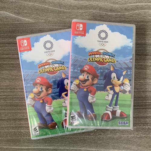 "Game Nintendo "" Mario And Sonic At The Olympic Games Tokyo 2020 "" New Seal >> Hàng Nhập Khẩu"