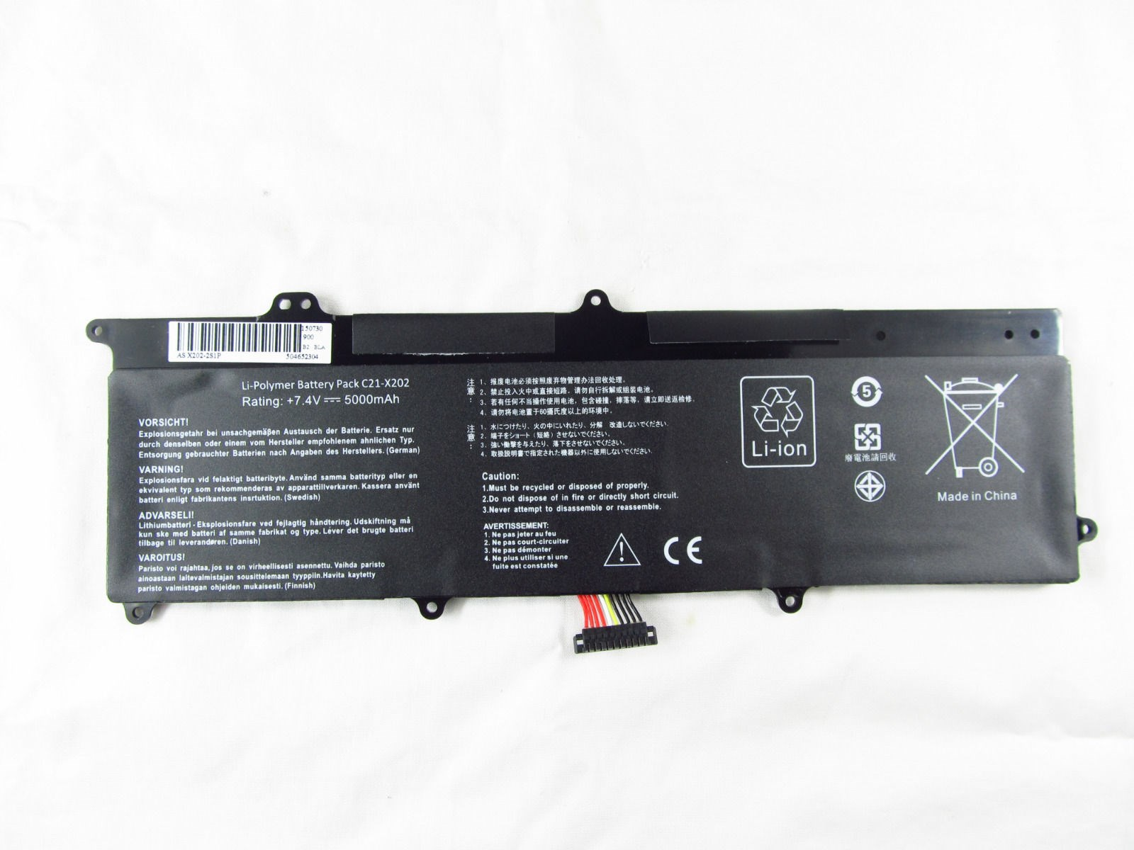 Pin dành cho Laptop Asus X202