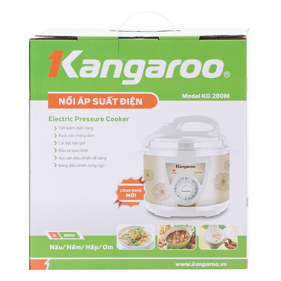 Nồi Áp Suất Cơ Kangaroo KG280M (5L)-Hàng chính hãng