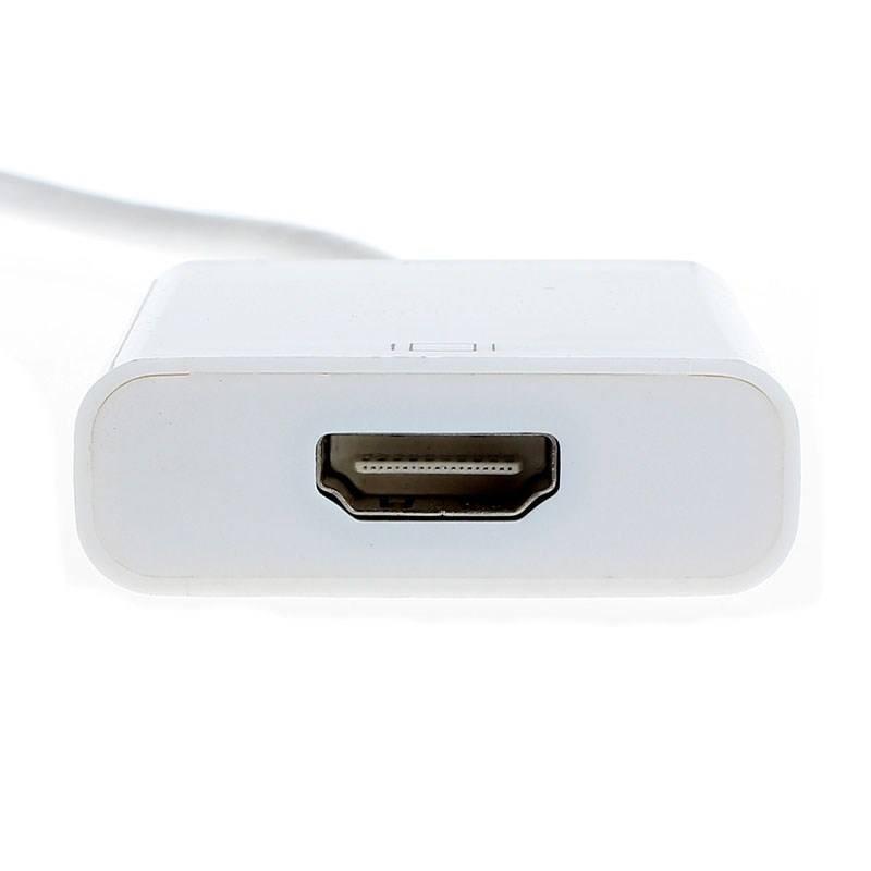 Cáp HDMI cho IPhone 4,4S, IPAD 2,3 kết nối Tivi