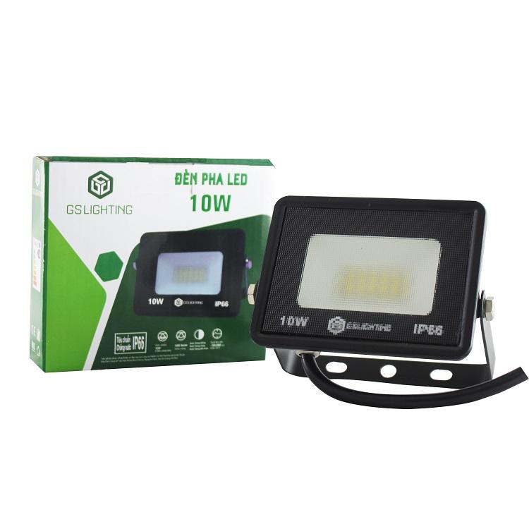 Đèn pha LED chiếu sáng ngoài trời 10W GSPN GS Lighting