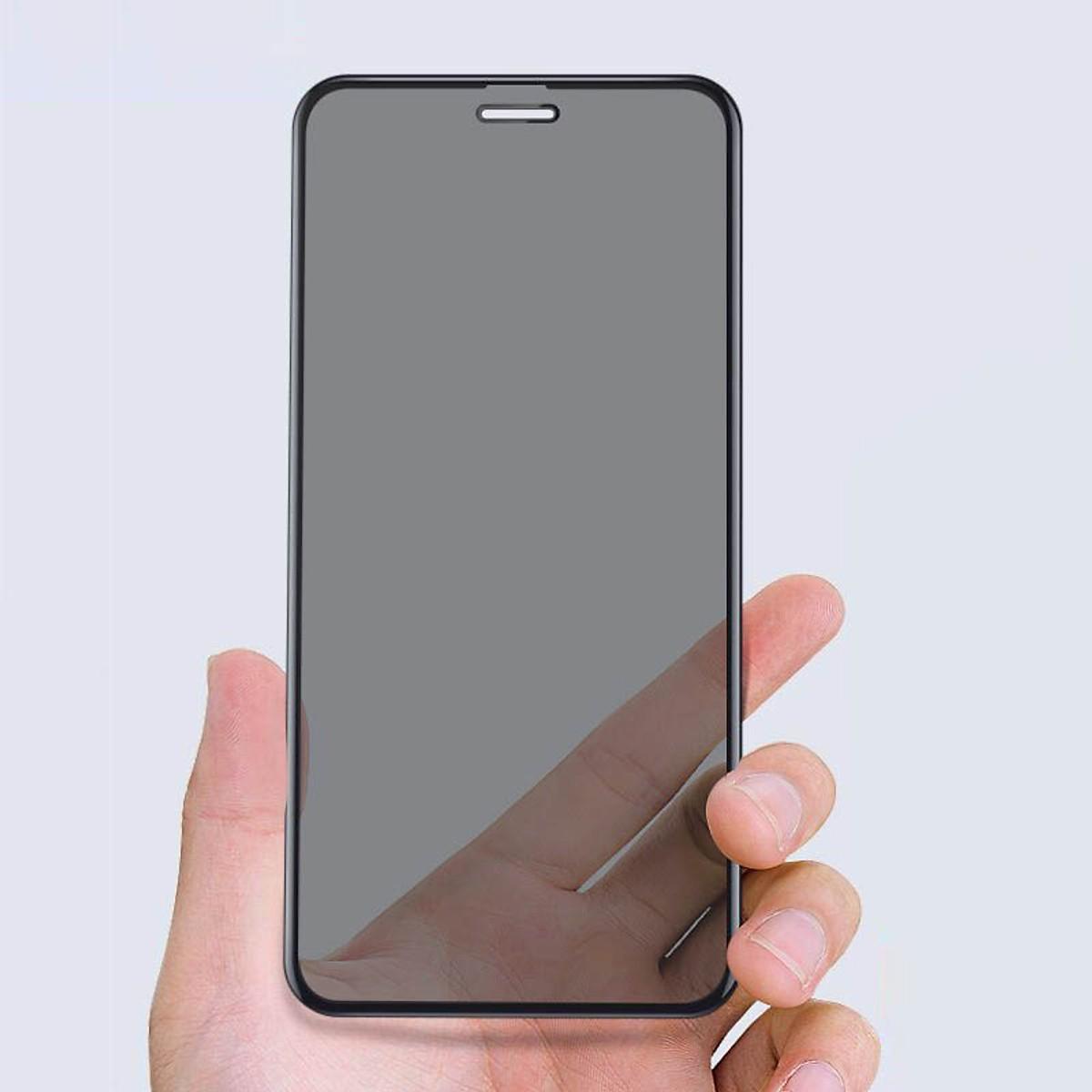 Tấm dán cường lực full 9H chống nhìn trộm dành cho iphone 11 6.1 inch