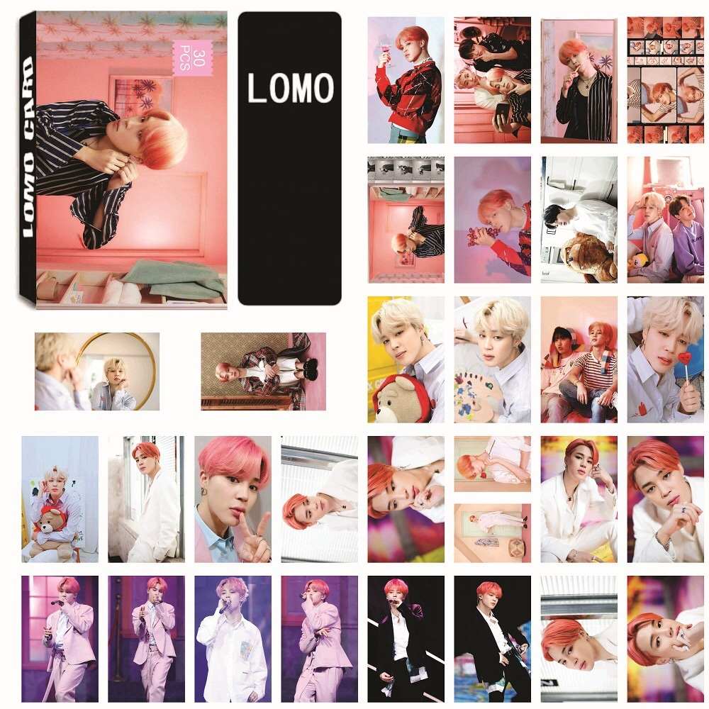 Lomo card Jimin BTS Map of the soul Persona