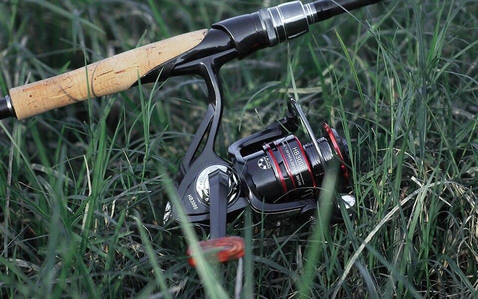 Cần câu cá - Kèm máy kim loại cao cấp - Máy 5000 - Tặng kèm nhiều phụ kiện CCM003