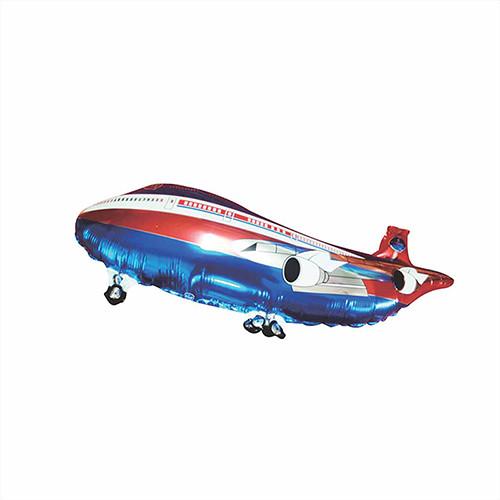 Bóng hình máy bay nhũ thường size trung