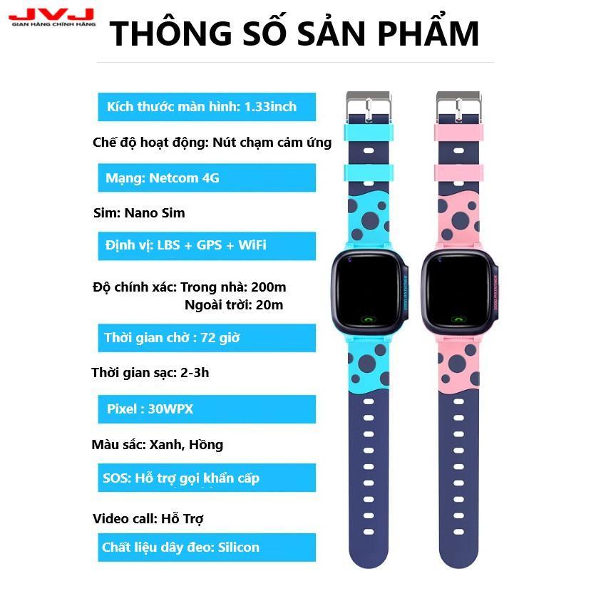Đồng hồ định vị thông minh Y95 JVJ Cho Trẻ Em, Gọi Video HD 4G, Kết nối wifi, ứng dụng học thông minh-Hàng chính hãng
