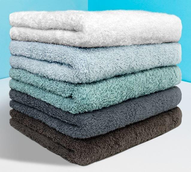 Towels, Khăn gội bestke 100% cotton, màu xanh nõn chuối, KT 83*33cm