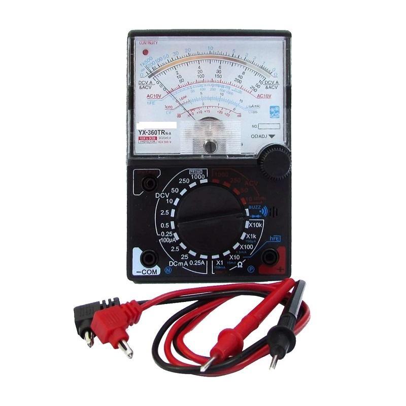 Đồng hồ đo vạn năng  sửa chữa  YX-360TR có loa báo thông mạch kèm bin