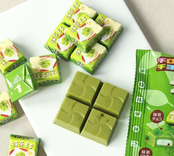 Kẹo sữa Matcha Choco nội địa Gói 7 Cái