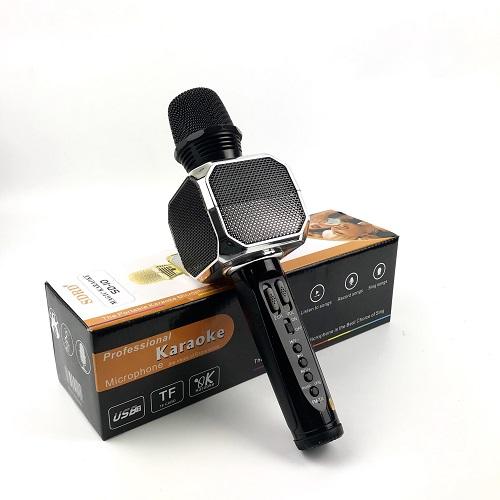 Micro Bluetooth Hát Karaoke Không Dây SD10 Đa Năng, Nghe Nhạc Cực Hay, Âm Bass Cực ĐỈnh, Mic Bắt Giọng Rất Tốt, Hỗ Trợ Kết Nối USB, Thẻ Nhớ, Cổng 3.5, Nhiều Màu Sắc - Hàng chính hãng