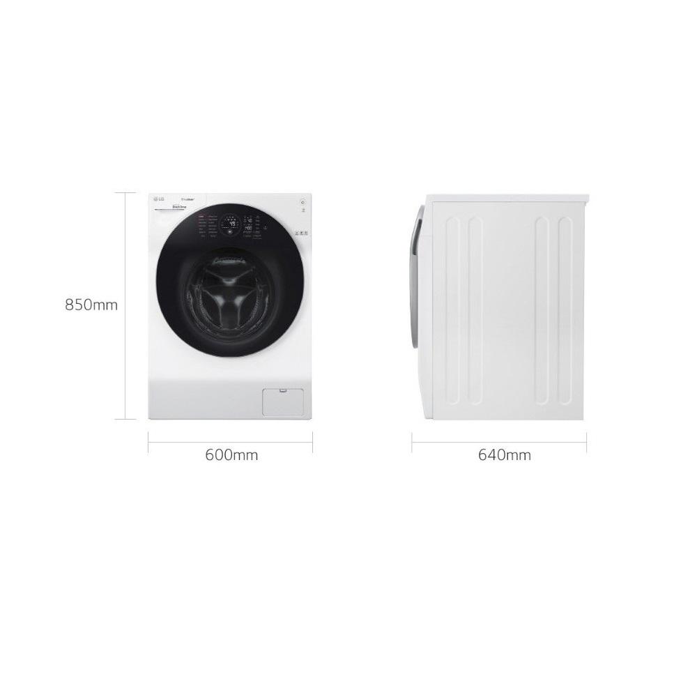 Máy giặt sấy LG Inverter 10.5 kg FG1405H3W1 - Hàng Chính Hãng