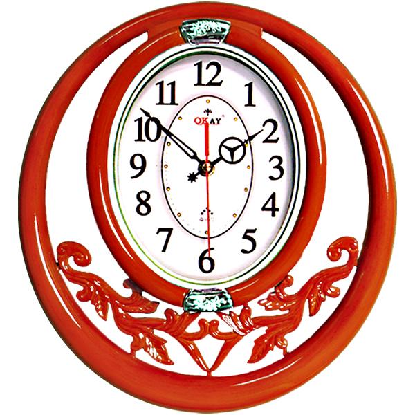 Đồng hồ treo tường thiết kế đẹp OKAY 49