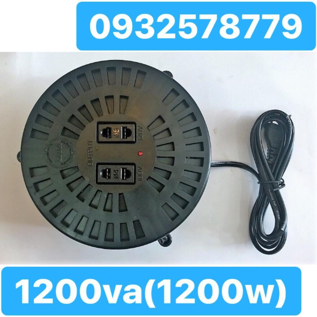 Biến Áp Đổi Nguồn LIOA 1200VA. Đổi Điện 220v Sang 100v, Biến Áp Tự Ngẫu 1.2kva DN012