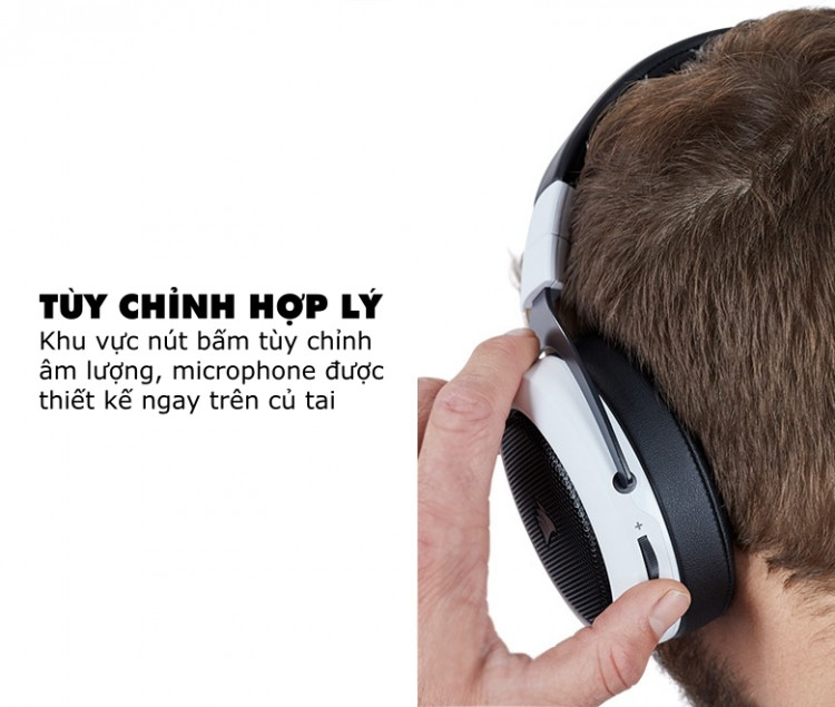 Tai nghe Corsair HS70 Wireless