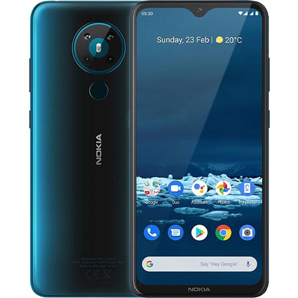 Điện Thoại Nokia 5.3 64GB3GB - Hàng Chính Hãng - Xanh