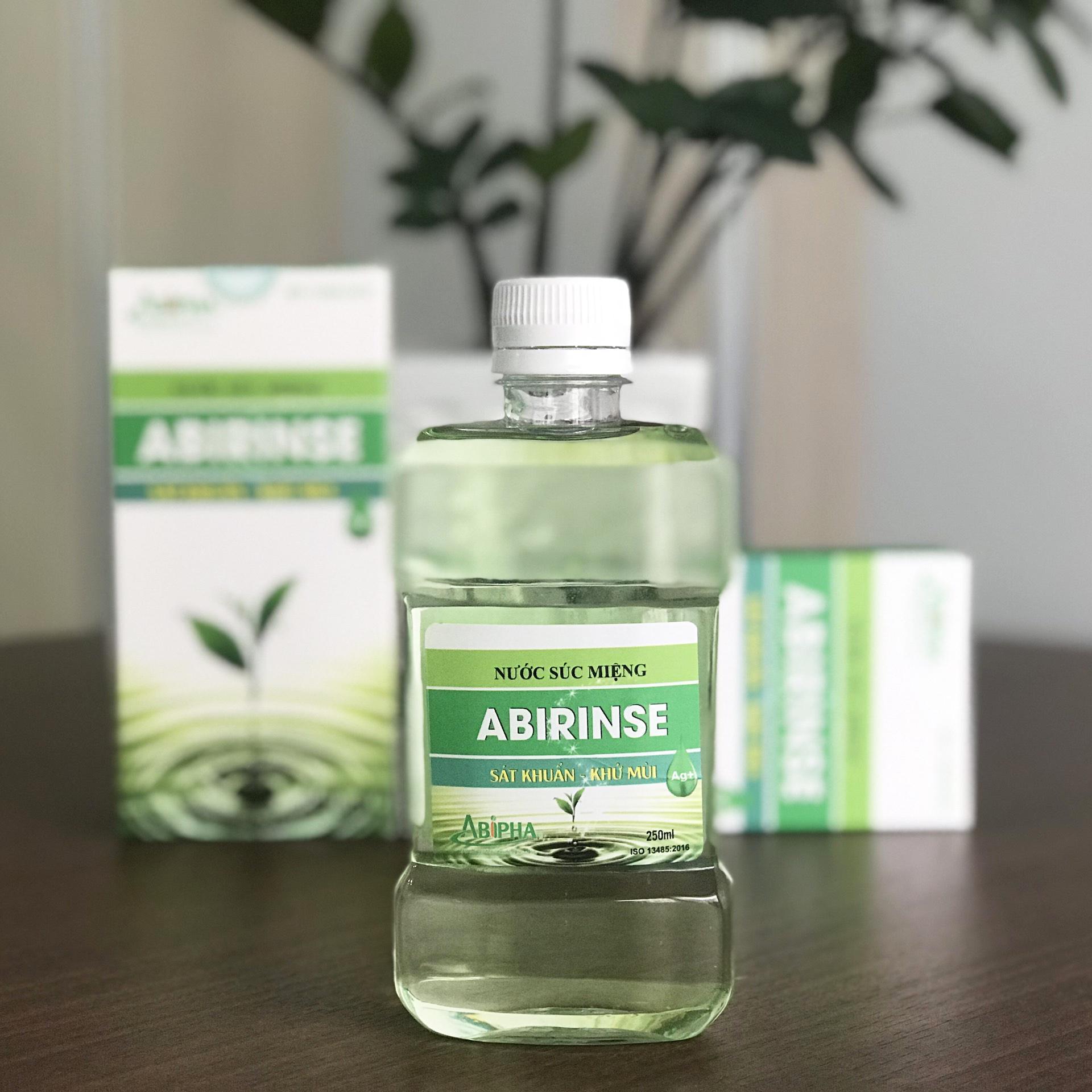 Nước súc miệng ABIRINSE - Chlorhexidine 0,12%