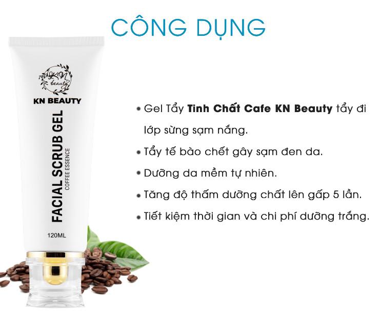 Bộ 4 bước chăm sóc da Trắng sáng Ngừa Nám KN Beauty chuyên sâu: Kem dưỡng 25g + Serum 30ml+ Sữa rửa mặt 120ml+ Tẩy tế bào chết 120ml - Tặng Body ngày