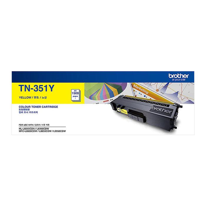 Mực In Laser Brother TN 351Y - Hàng Chính Hãng