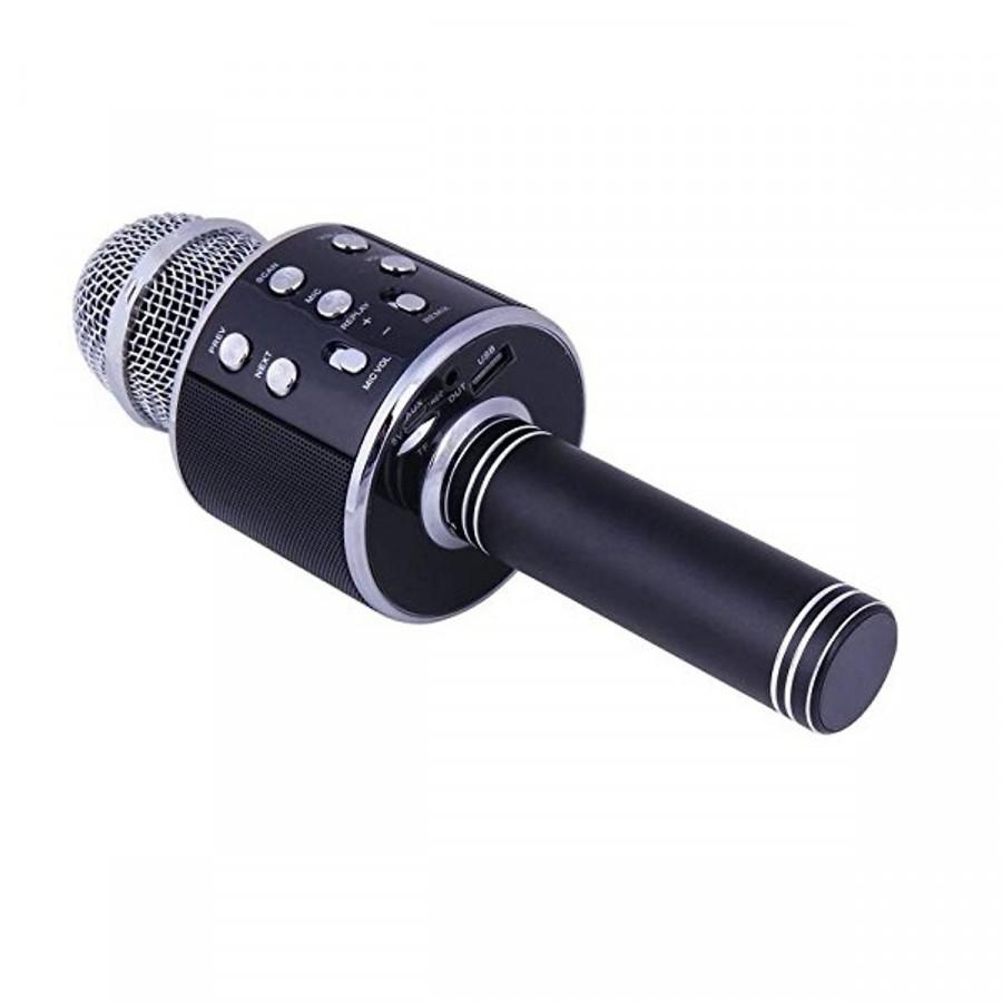 Micro karaoke kèm loa bluetooth ( Ngẫu nhiên )