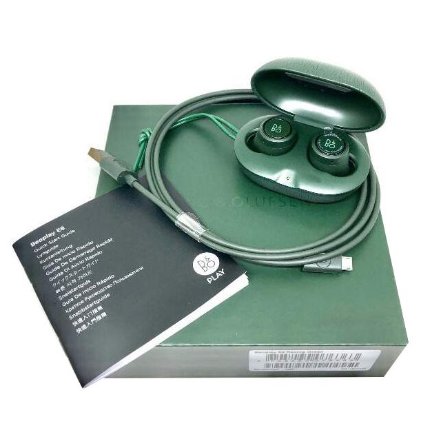 Tai nghe bluetooth BeoPlay E8 Racing Green-  Hàng chính hãng