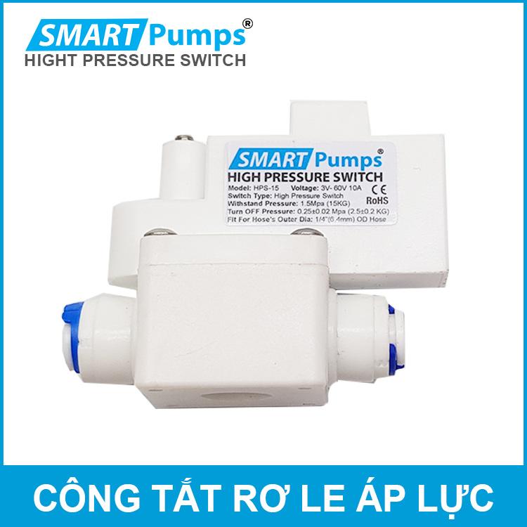 Công tắt áp cao máy bơm máy lọc nước Smartpumps chính hãng