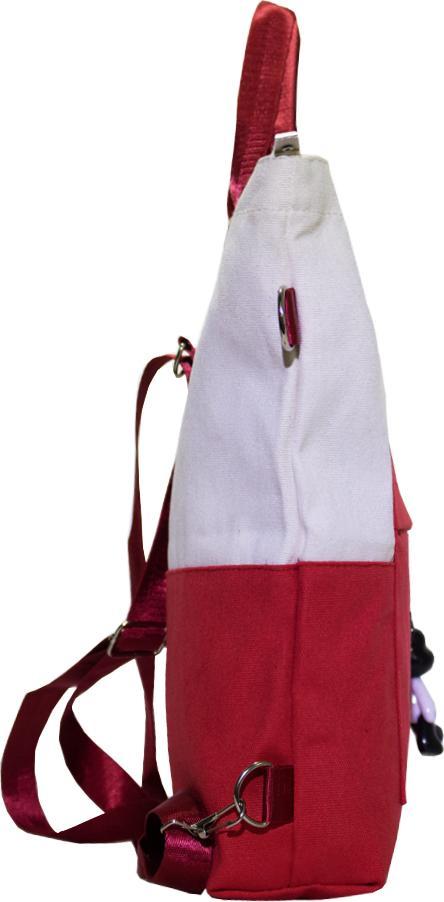 Túi Vải Tote Đeo Chéo Balo Mẫu Ghép Hàng Quảng Châu Cực Tốt