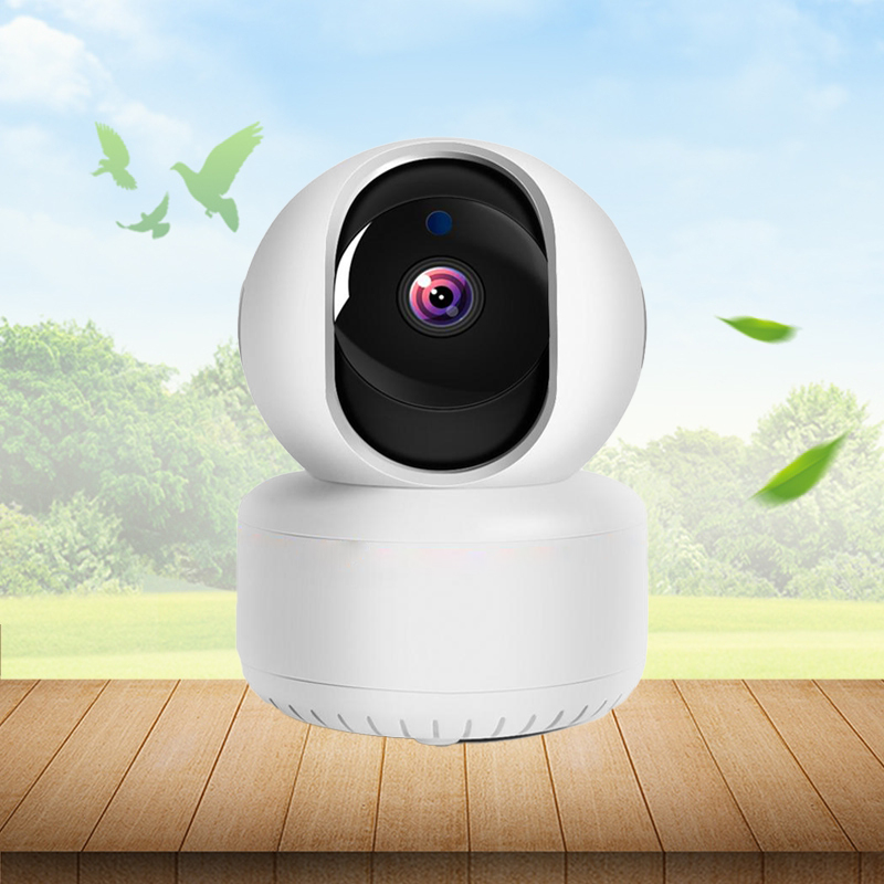 Camera IP wifi trong nhà, có cổng LAN chuẩn 1080P
