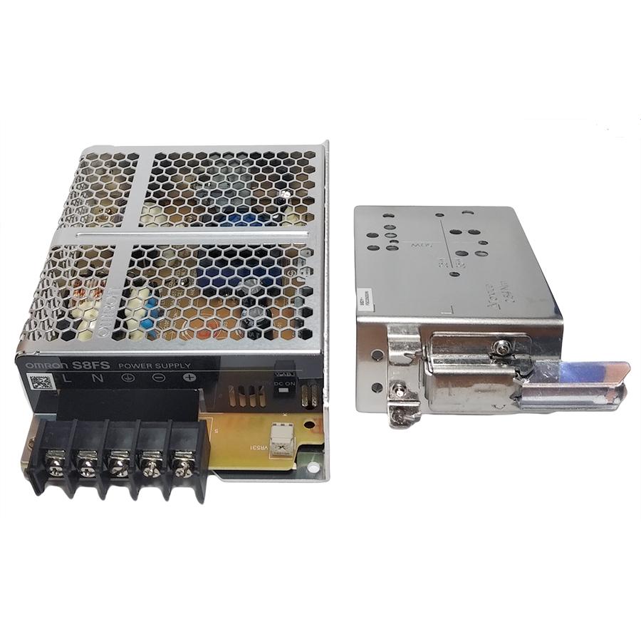 Bộ nguồn Omron 12VDC, 4,2A S8FS-C05012J + S82Y-FSC050DIN. Hàng chính hãng