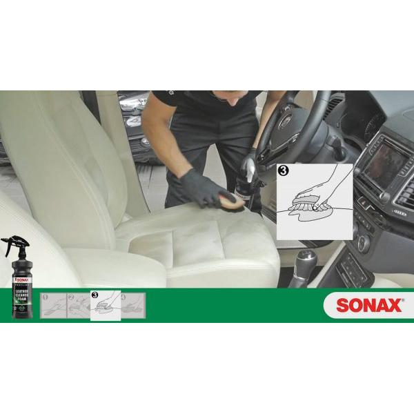 Làm sạch da ô tô Sonax Profiline Leather Cleaner Foam 1 lít 281300