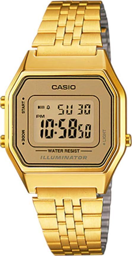Đồng hồ nữ dây kim loại Casio LA680WGA-9DF