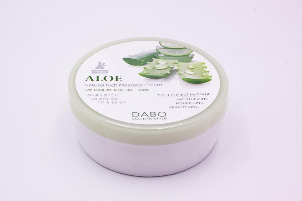 Kem Massage Nha Đam Hàn Quốc cao cấp Dabo Aloe (200ml) – Hàng Chính Hãng