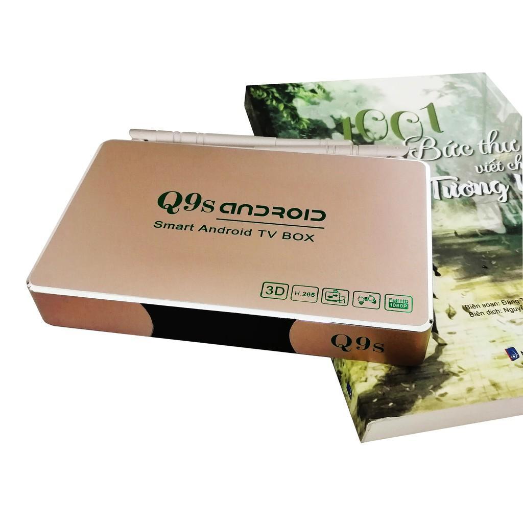 Q9S Android BOX  YouTube 4K 3D video RK3229 RAM 2G thông minh tv box Phiên bản giọng nói CHÍNH HÃNG
