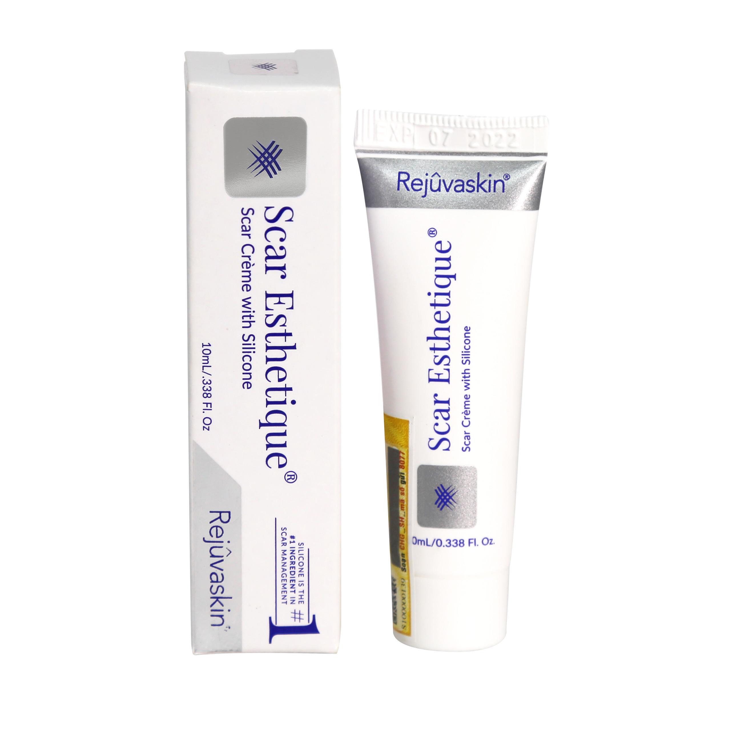 Kem làm mờ sẹo thâm, sẹo rỗ, sẹo lõm Scar Esthetique 10ml của Rejuvaskin - thương hiệu hỗ trợ trị sẹo Hoa Kỳ
