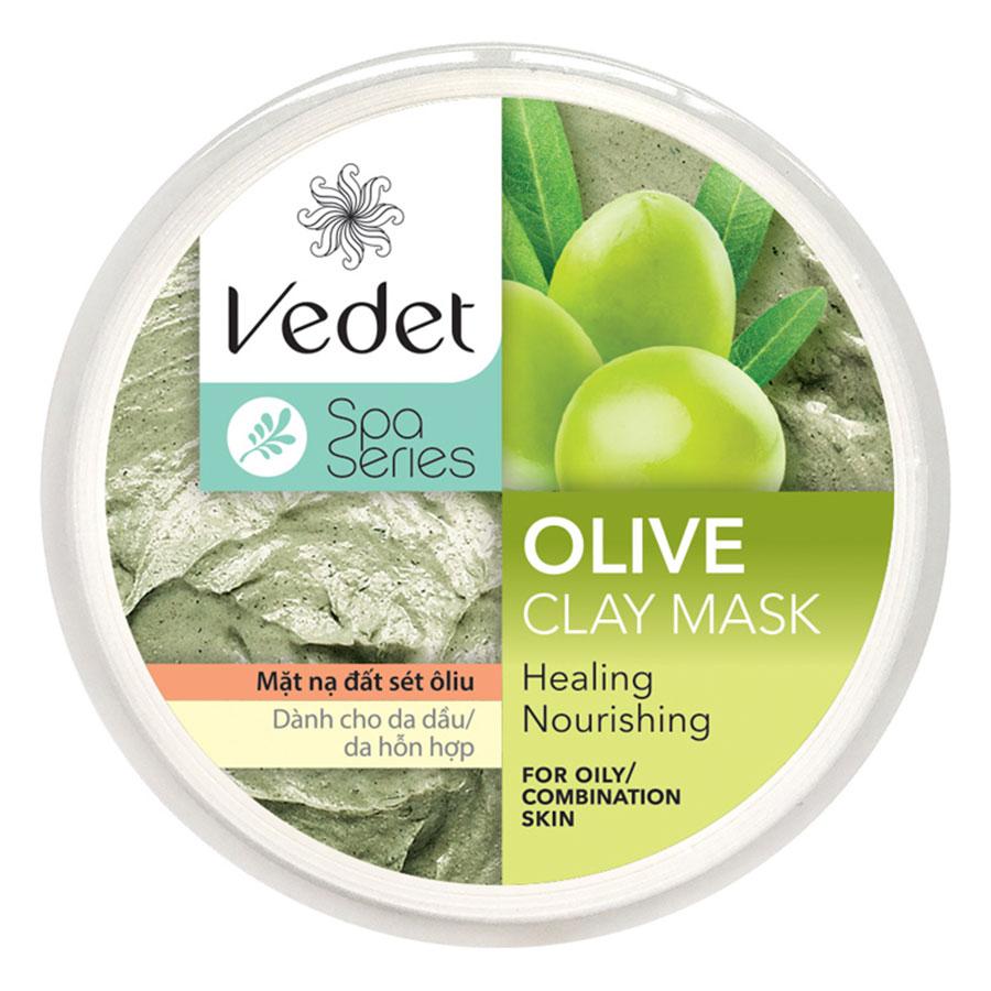 Mặt Nạ Đất Sét Olive Vedet (140g) - 1359899909703,62_2907049,66000,tiki.vn,Mat-Na-Dat-Set-Olive-Vedet-140g-62_2907049,Mặt Nạ Đất Sét Olive Vedet (140g)