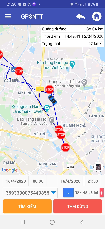 Định Vị Xe Máy Ô tô A8 Plus (Loại Tốt) Kèm Sim 4G - Phần Mềm Tiếng Việt GPSNTT