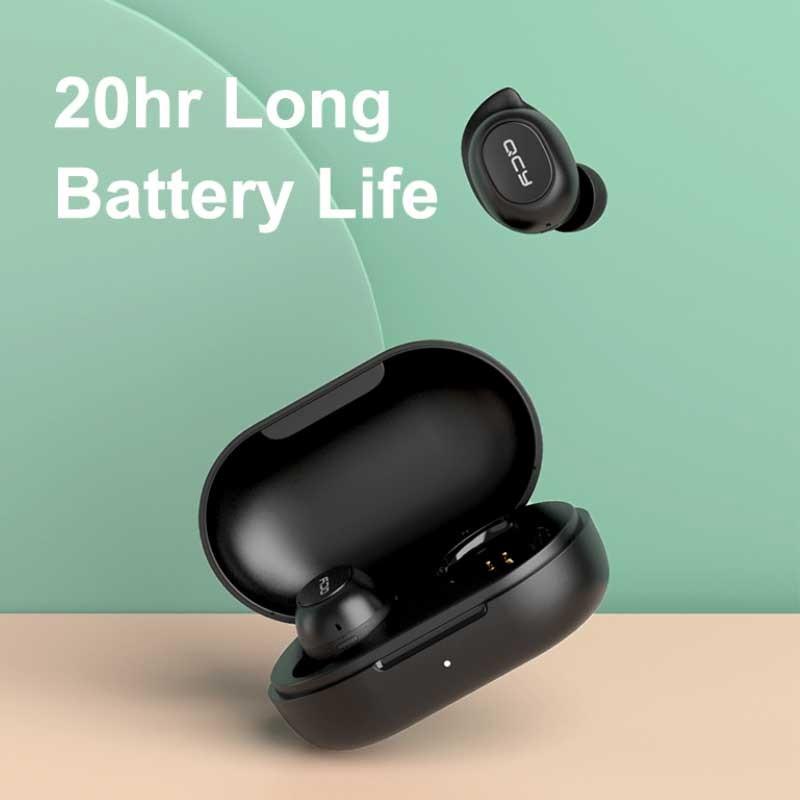 Tai nghe Bluetooth True Wireless QCY T9s - Hàng chính hãng