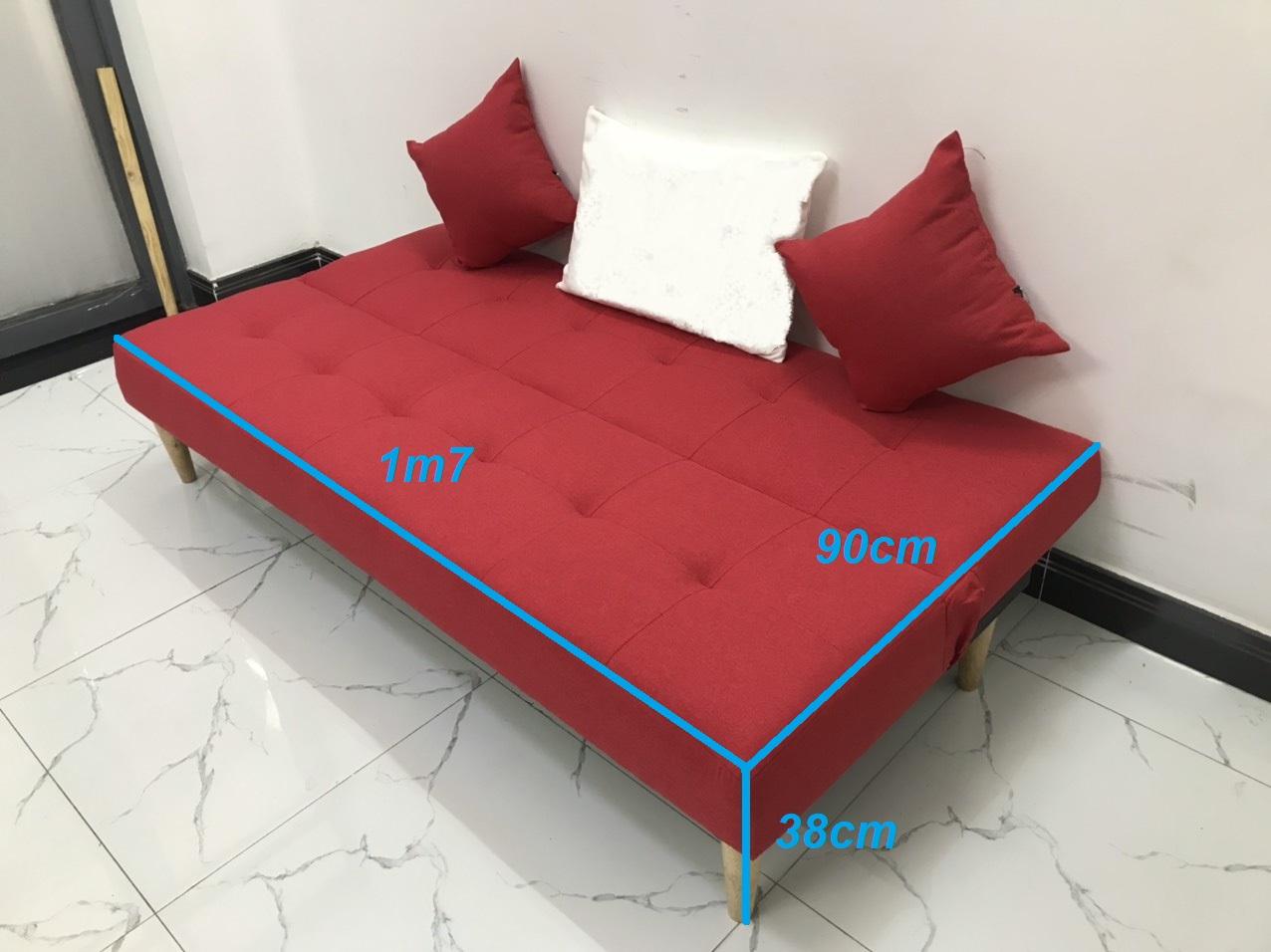 Ghế sofa bed, sofa giường 1m7x90, sofa phòng khách salon linco15