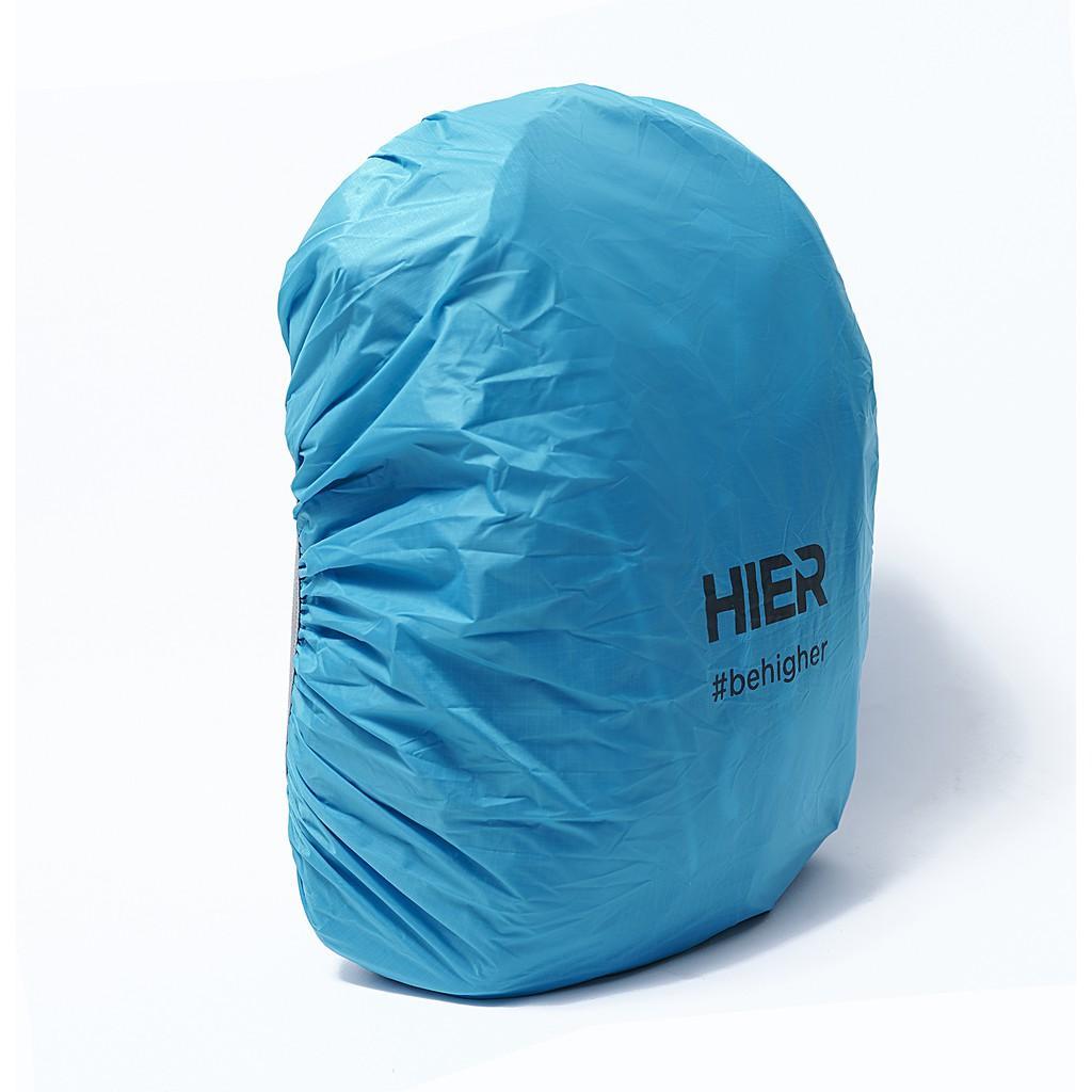 Áo mưa balo túi trùm balo Hier dành cho balo thể tích dưới 30L- 2 màu-chống nước chống bụi- có quai đeo tiện lợi-nhỏ gọn