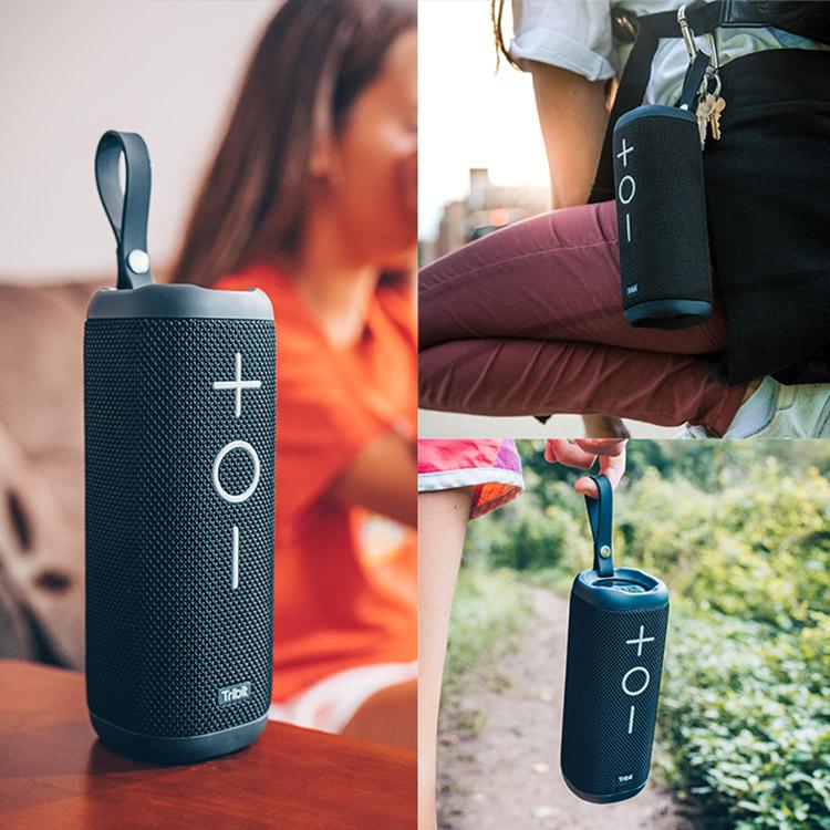 Loa Bluetooth Tribit StormBox chống nước IPX7, pin lên đến 20h sử dụng, công suất 12W - Hàng chính hãng