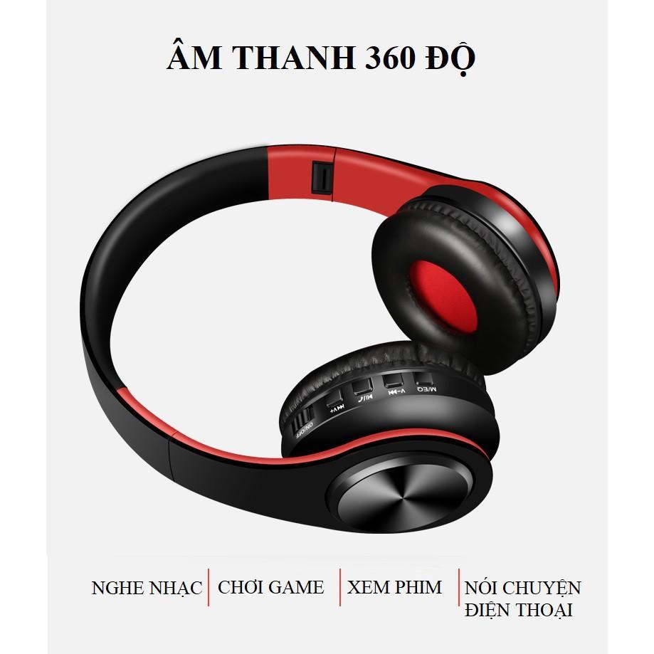 Tai nghe Chụp Tai ️️ Tai Nghe Bluetooth Âm Thanh Sống Động - Tai Nghe Không Dây HZ-B7 Có Khe Thẻ Nhớ