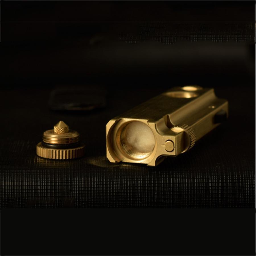 Hộp Quẹt Bật Lửa Dùng Xăng Đá Bằng Đồng Thau Đánh Lửa Tốt Zorro Z-2