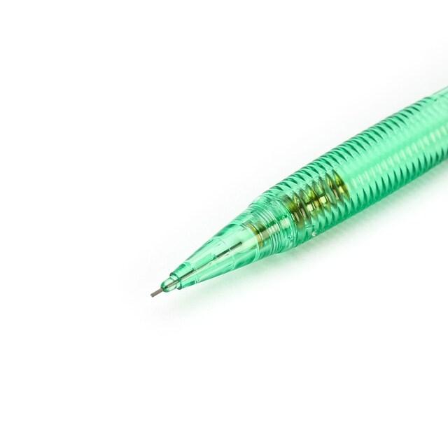 Bộ 2 Bút Chì Bấm Pentel 0.5mm AX105C-K - Màu Xanh Lá