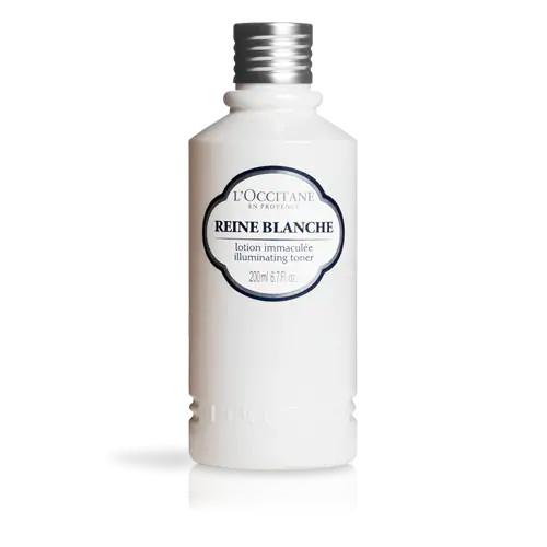Nước cân bằng giúp làm trắng da trân châu mai L'occitane 200ml/Reine Blanche Illuminating Toner 200ml