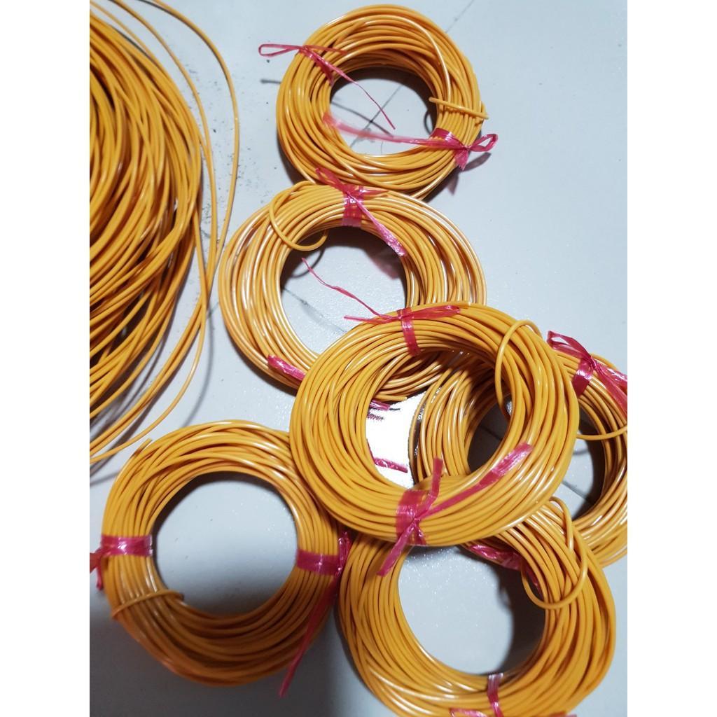 Dây nhựa đan ghế, xích đu (1kg)