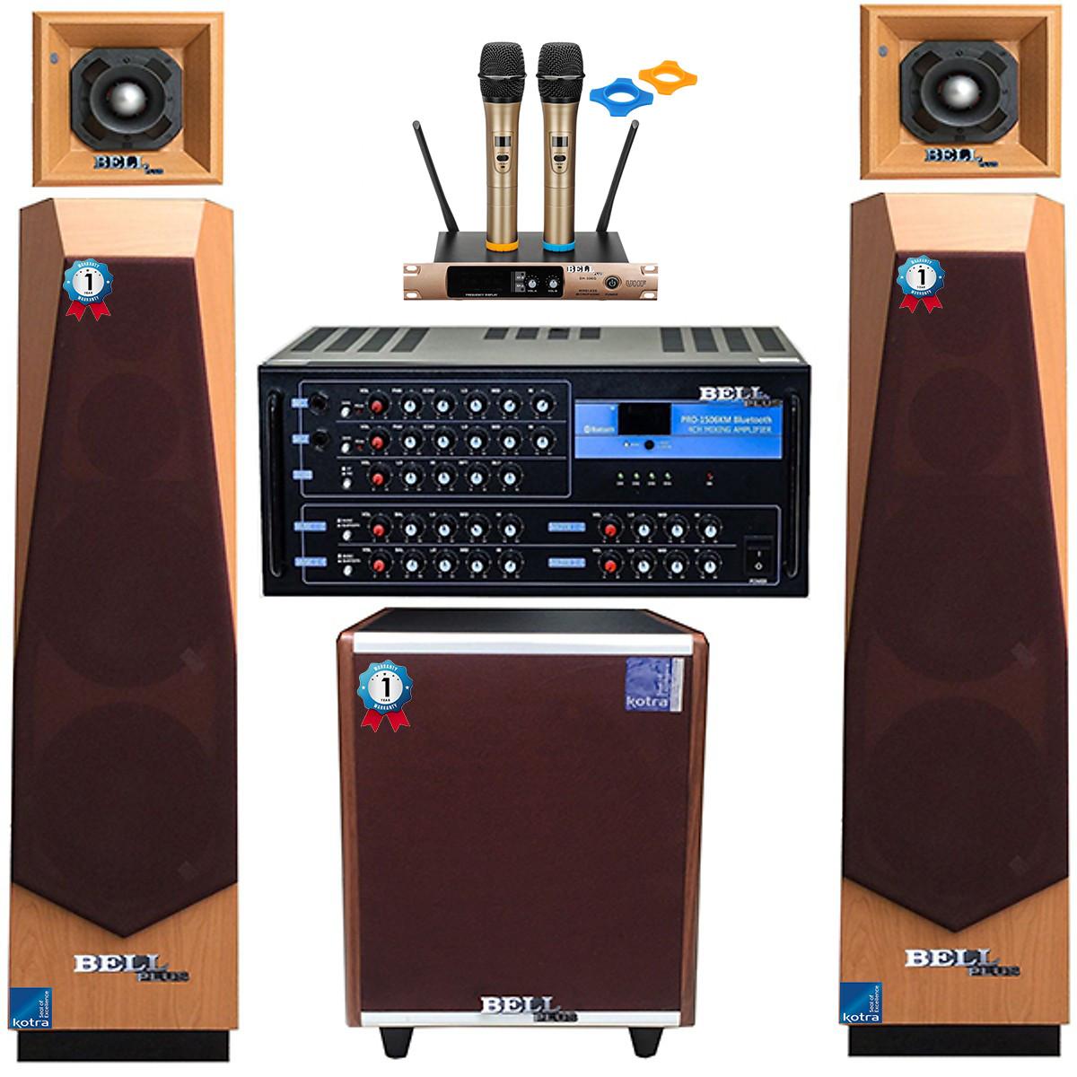 Bộ dàn karaoke gia đình BBS - 9700  BellPlus (hàng chính hãng)