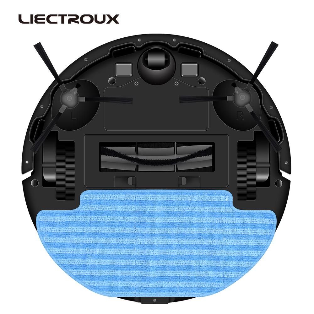 Combo 3 Khăn lau - Phụ kiện robot hút bụi Liectroux ZK901 - Hàng chính hãng  - Phụ kiện máy hút bụi