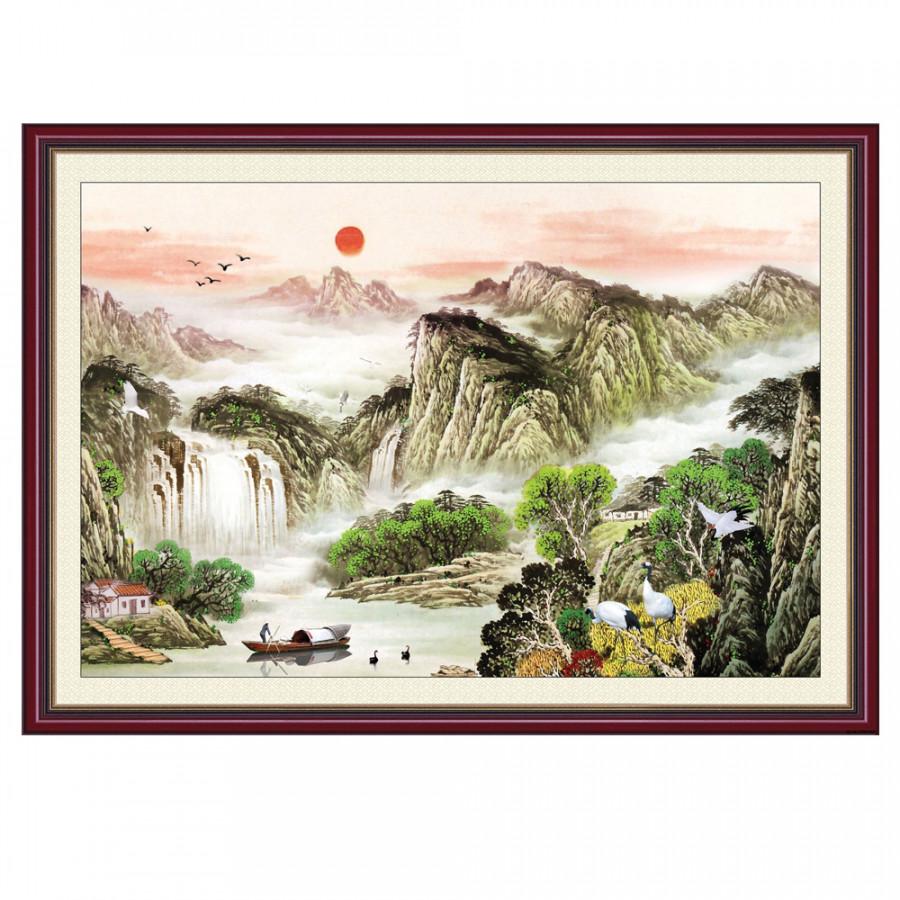Tranh Dán Tường Phong Thủy Q12K-ZTH(395)