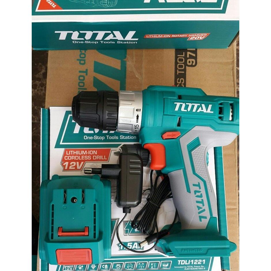 Máy khoan dùng pin Lithium 12V Total TDLI1221